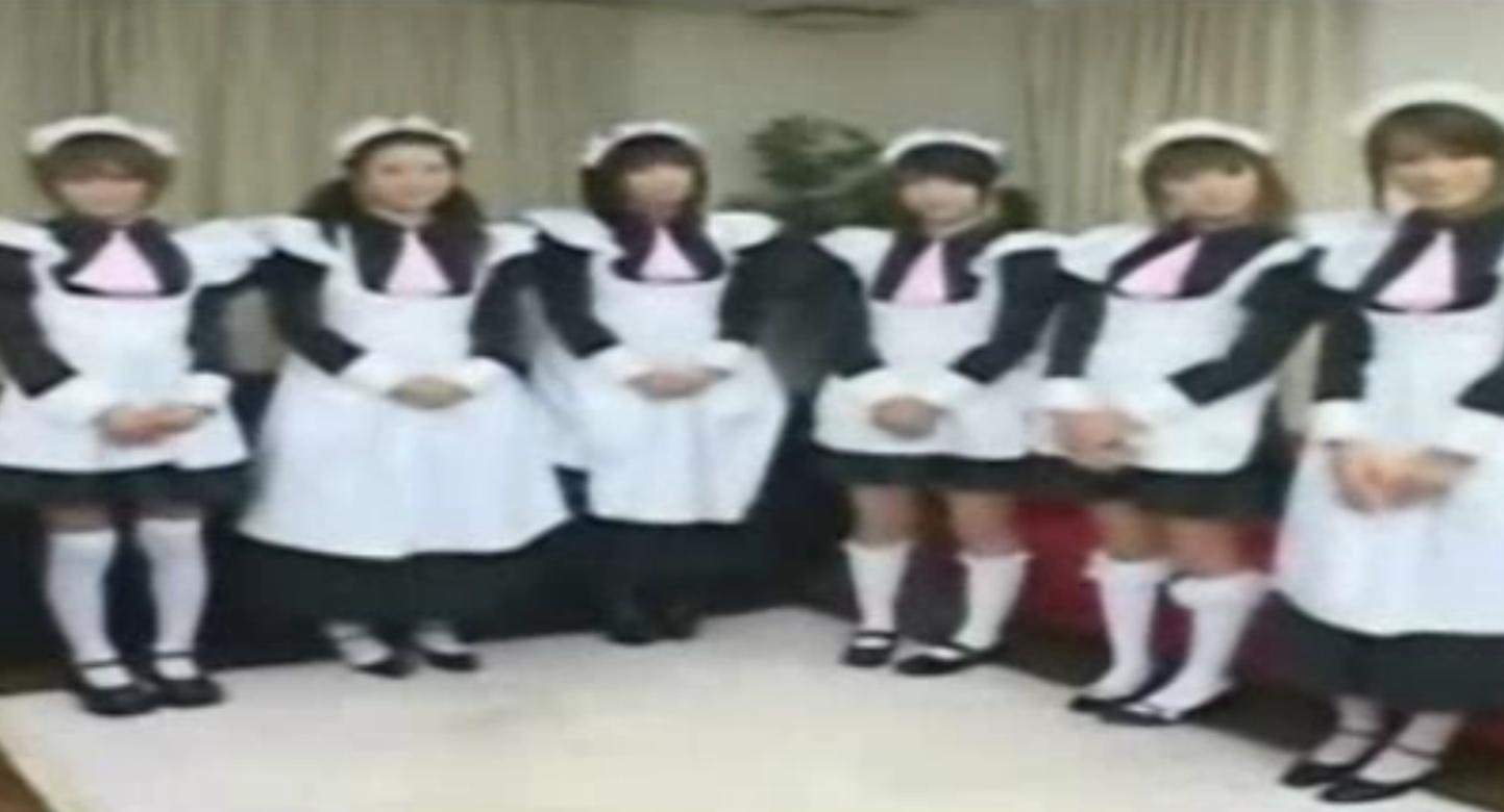 六人のメイドがお迎えしてくれる館でハーレムご奉仕