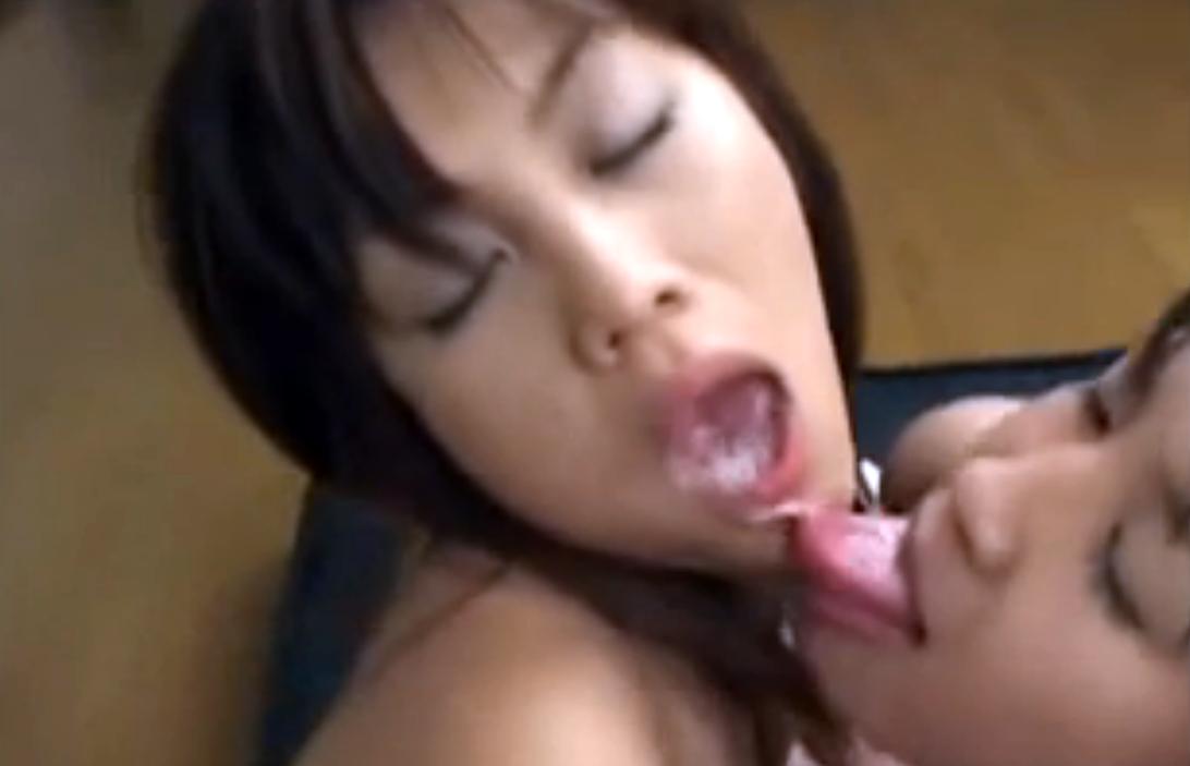 【お掃除フェラ】レズカップルのマンコとアナル生挿入から舌射ごっくん