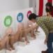【変態パネルゲーム】家族&親戚のマンコにハメて誰か当てられたら賞金